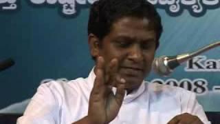 (1/2) Ahmadiyya: Father A Kanakaraj (Christian) in Kannada at Inter-Religious Peace Conference 2008