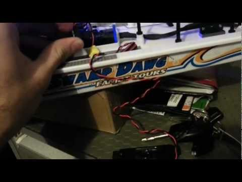 G.T. Power R/C Police Car Voice System Testing