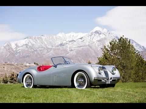 1954 jaguar xk120 se roadster - youtube