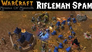 Скачать Rifleman Spam WarCraft Armies Of Azeroth Orcs Gameplay