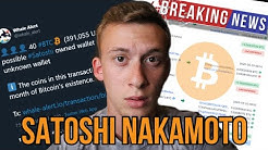 🔴BREAKING: Satoshi Nakamoto Is Selling His Bitcoin!? Identity to be Revealed??