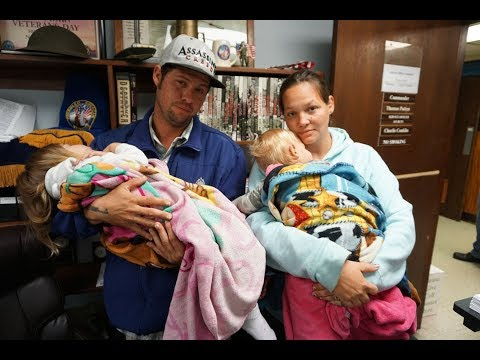 Family of 4 Homeless in Titusville, Florida