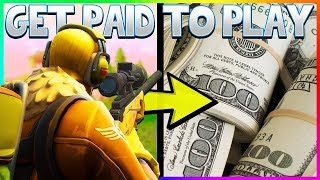 How to Make MONEY by Playing Fortnite... (Legit Method)