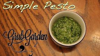 The Best Simple Pesto | By Grub Garden