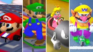 Evolution of Racing Minigames in Mario Party (1998-2018)