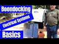 Boondocking Basics: Electrical Systems for our Jayco Hummingbird