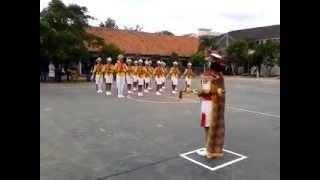 Paskibra SMPN 4 Kota Serang (Satria Selat Sunda)