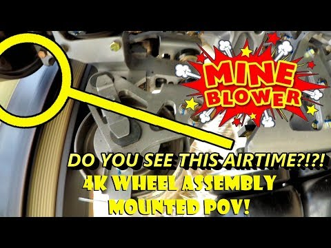 Mine Blower INSANE 4K WHEEL ASSEMBLY MOUNTED POV Fun Spot America (Kissimmee)