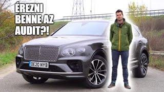 Túlárazott Audi, vagy 99 milliós luxus? - Bentley Bentayga V8 teszt