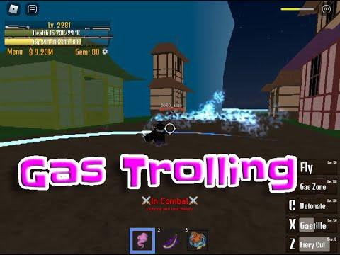 Gas Trolling + Bounty Hunting King Legacy |