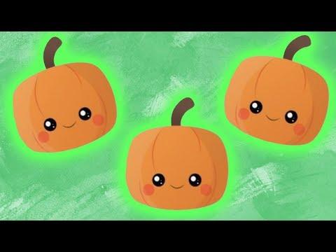 Ten Little Pumpkins  Childrens Halloween Song  Sweetly Spun Music with Peanut