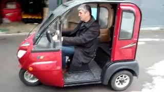 Огляд електричного трицикла для літніх .Простий в управлінні.