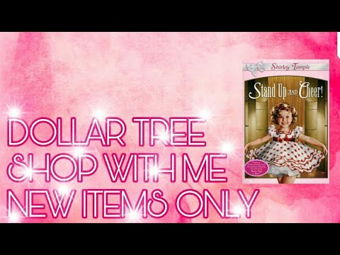SHOP WITH ME AT DOLLAR TREE   NEW ITEMS ONLY   4/28/2018