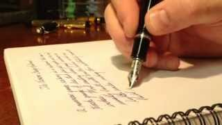 Writing with Montblanc Boheme - ASMR