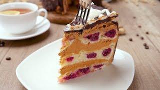 Торт с вишней и сгущенным молоком - Рецепты от Со Вкусом