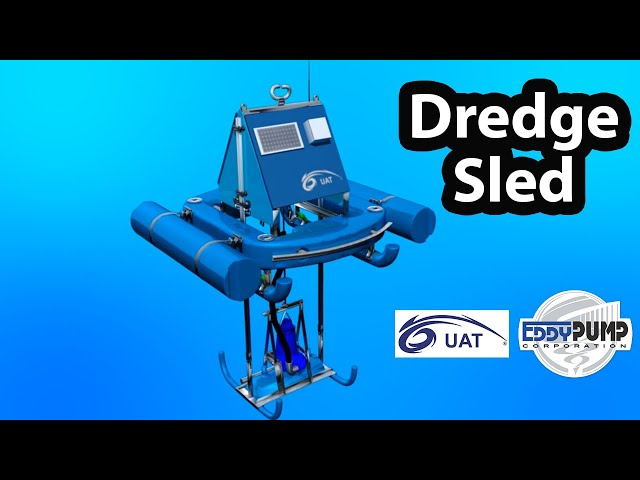 Dredge Sled - Remote-Operated Lagoon Dredge Equipment for Industrial Ponds