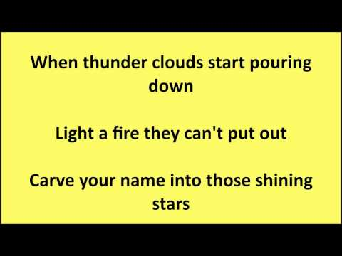 AVICII  The Nights Lyrics On Screen FIFA15
