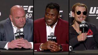 UFC 260: Лучшие моменты пресс конференции