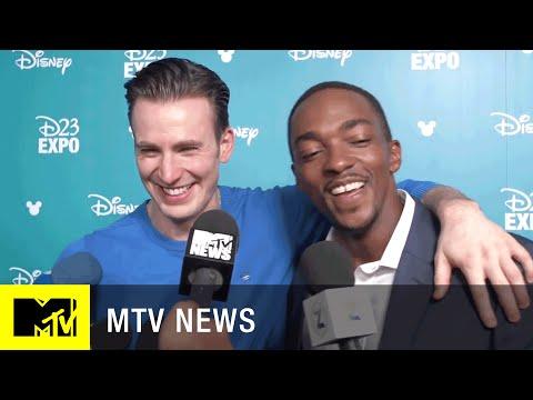 Chris Evans & Anthony Mackie Talk About 'Captain America: Civil War' | MTV