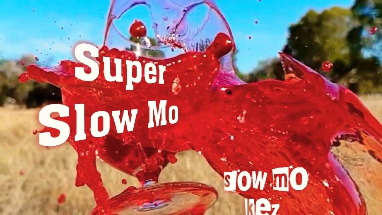 Super Slow Motion glass smash using Samsung Galaxy S9 Plus 960fps - Slow Mo Kez