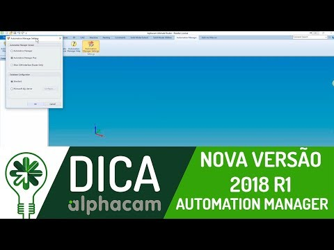Dica 09 AC | Automation Manager versão 2018 R1