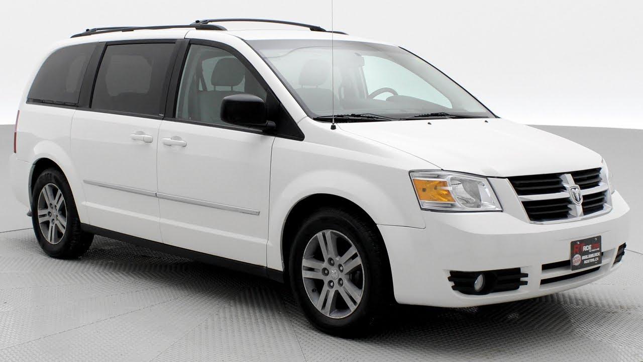 2010 Dodge Grand Caravan Sxt W Rear Dvd Backup Camera Ridetime Ca