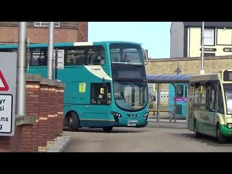 Buses Of Wales 2019-Rhyl Bus Station Arriva Dart/Enviro 400/Volvo
