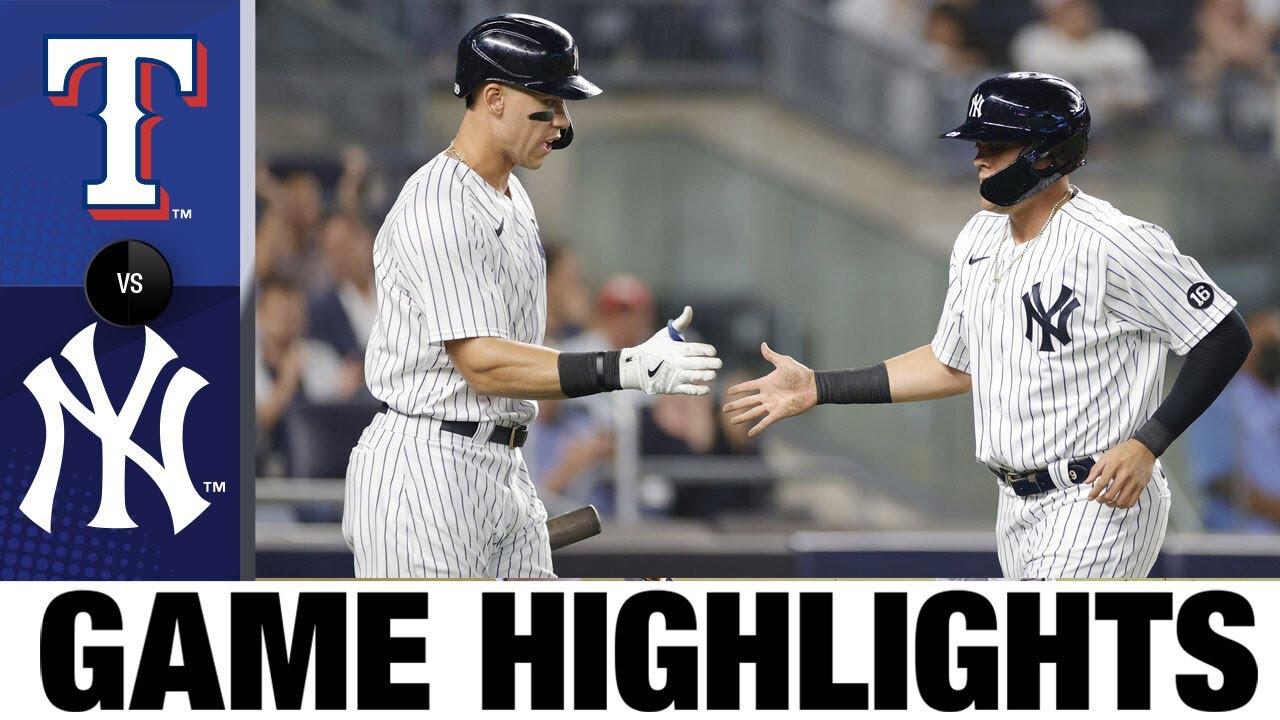 Download Rangers vs. Yankees Game Highlights (9/21/21) | MLB Highlights
