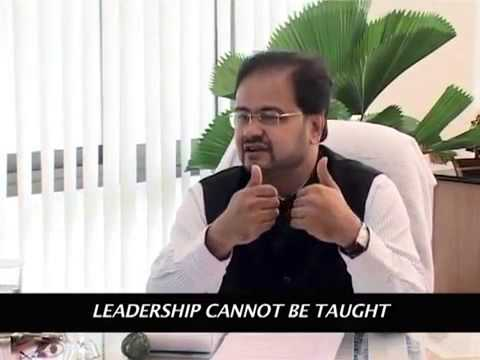 Prof  Debashis Chatterjee on Leadership and Management