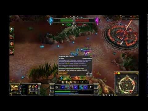 Let's Play League Of Legends [Ninja Rammus Dominion] - Rammus God Of Thunder