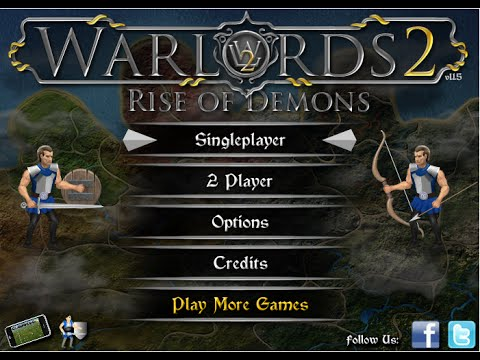 Armor Games - Warlords Rise of Demons - EVIL TROLLS! [2]