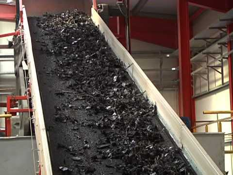 Tyre Recycling Plant. Technology explained