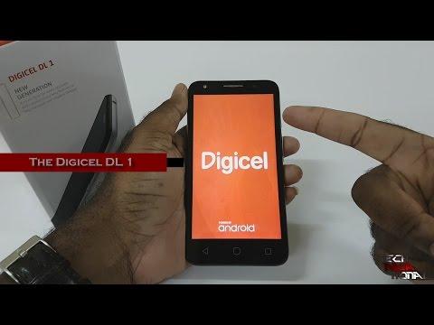 Digicel DL1 aka Alcatel Pixi 4 (5) Review - YouTube