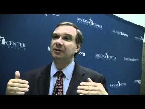 John Fund talks to the Mackinac Center