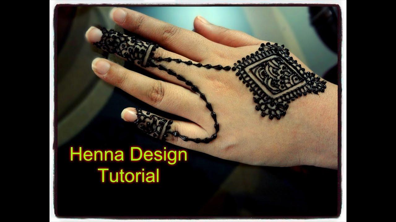 Beautiful Henna Mehndi Jewellery : Easy diy beautiful henna mehndi jewellery inspired design