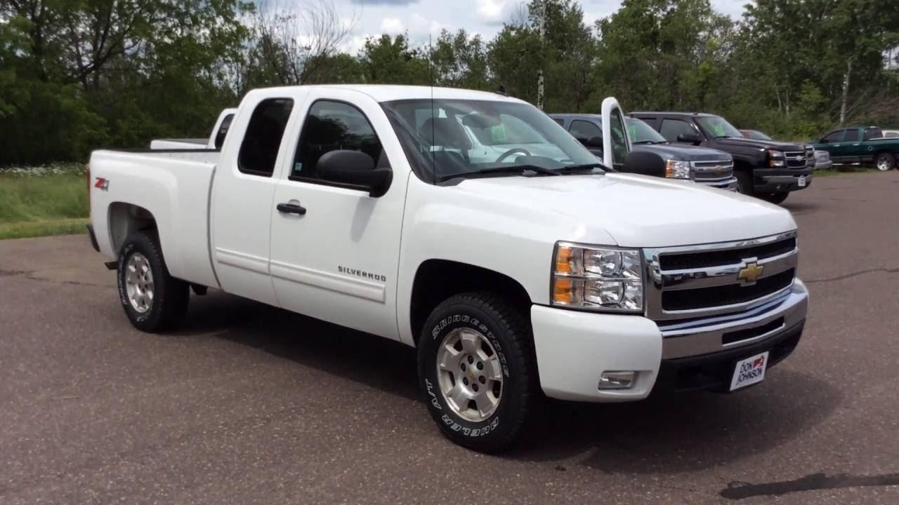 2010 Chevrolet Silverado 1500 Extended Cab >> 2010 Chevrolet 1500 Extended Cab White At Don Johnson Hayward Motors In Hayward Wi