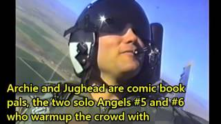 Blue Angels Training - A Practice Flight with Full Audio