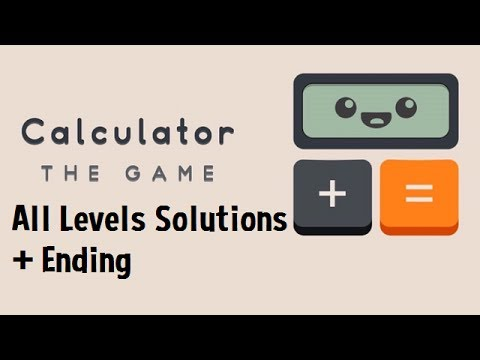 Calculator: The Game Levels 1-198 Walkthrough Solutions (All Levels Guide + Ending)