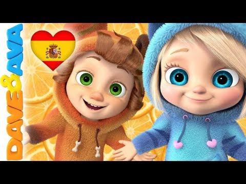 ???? Canciones Infantiles | Videos para Bebés | Música Infantil de Dave y Ava ????