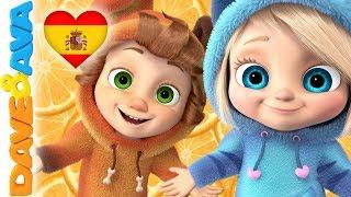 😘 Canciones Infantiles | Videos para Bebés | Música Infantil de Dave y Ava 😘