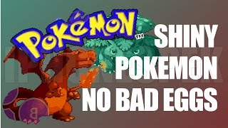 How to get Shiny Pokemon NO BAD EGGS Pokemon Fire Red & Leaf Green GBA4IOS 2.1