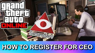 HOW TO REGISTER AS A CEO IN GTA 5 ONLINE | VERY EASY