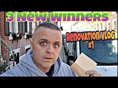 Let's Pick 3 New 70K Sub Giveaway Winners *Quick Renovation Vlog(#1)