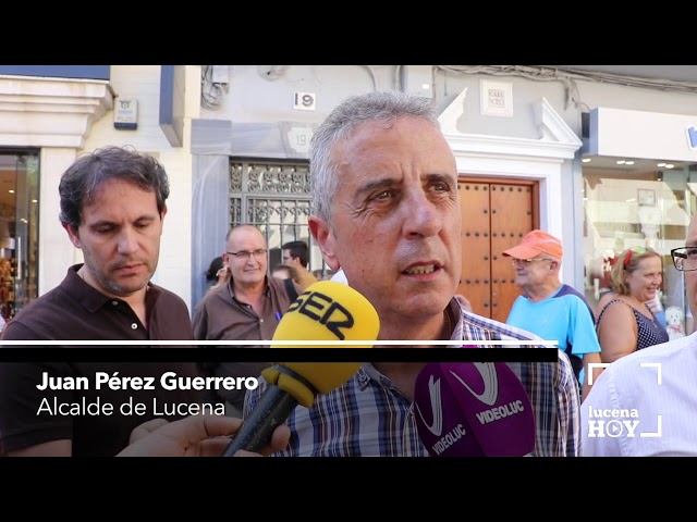 VÍDEO: Lucena se suma al dolor por los atentados terroristas de Cataluña