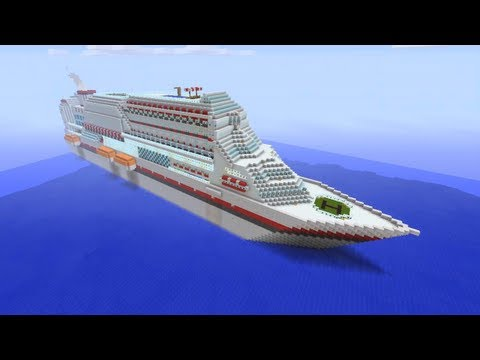 Minecraft Xbox – Massive Cruise Ship