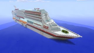 Minecraft Xbox - Massive Cruise Ship(In this video I tour a massive cruise ship that was built by ZShoot2KillZ and JN KINGZ. JN KINGZ channel - https://www.youtube.com/Jnkingz Map download ..., 2013-03-14T19:57:09.000Z)