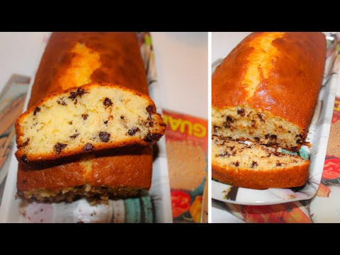 gâteau-au-yaourt-et-aux-pépites-de-chocolat-[recette]-🍫