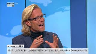 Bundestagswahl: Volker Kronenberg zu den Pressekonferenzen der Parteien am 11.09.17