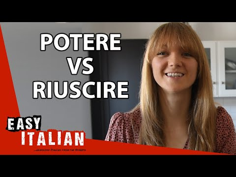 Potere vs. Riuscire: How to Say