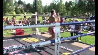 Jere Flinkman, Porvoo Thaiboxing Club vs Zing Maung Maung, Burma